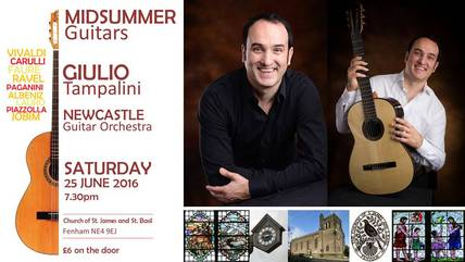 Midsummer Guitars with Giulio Tampalini